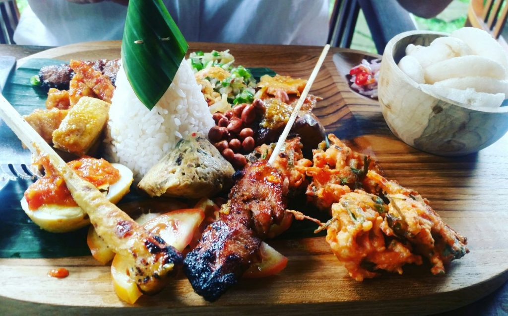 Nasi Campur Bali Food