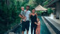 Holly and family in Bali
