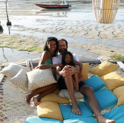 Expat family living in Seminyak Bali